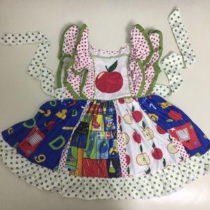 Boutique Apple 🍎 ABC Cute Twirl Dress